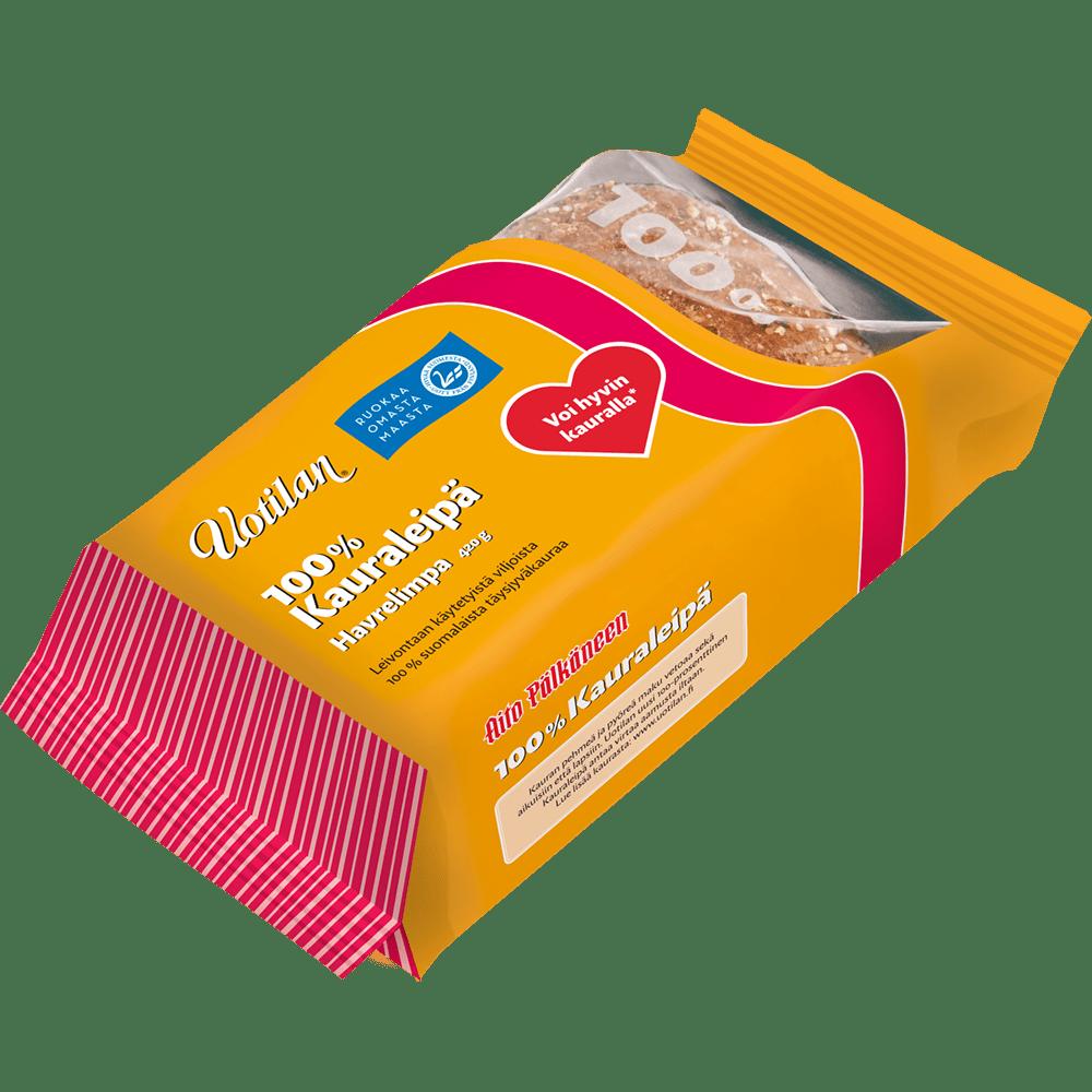 Uotilan 100% kauraleipä pakkauskuva